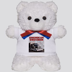American Trucker Teddy Bear
