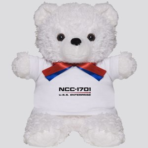 USS Enterprise Refit Dark Teddy Bear
