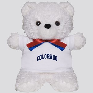 Blue Classic Colorado Teddy Bear