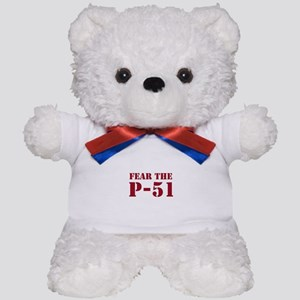 Fear the P-51 Teddy Bear