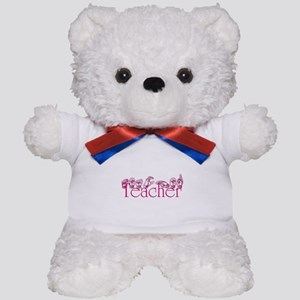 Teacher-pnk Teddy Bear