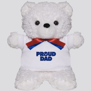 Proud Air Force Dad Teddy Bear