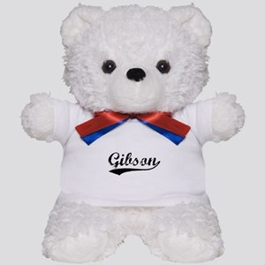 Vintage Gibson (Black) Teddy Bear