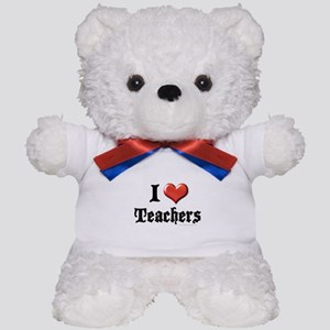 I Heart (Love) Teachers Teddy Bear