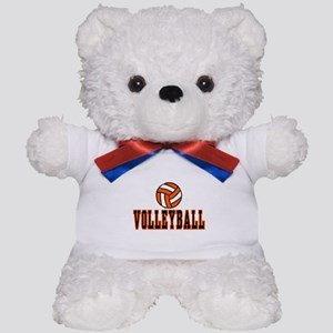 VOLLEYBALL {20} : orange Teddy Bear