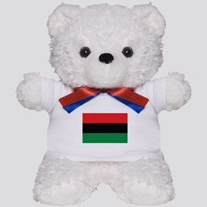 The Red, Black and Green Flag Teddy Bear