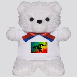 Solar Flare Up Motocross Teddy Bear