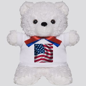 usflag Teddy Bear