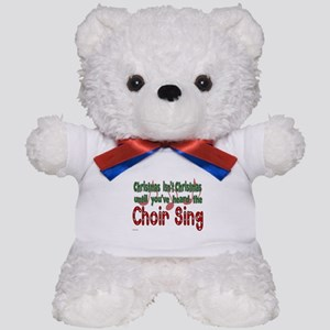 Christmas...Choir Sings Teddy Bear