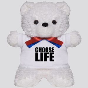 Choose Life 80s Vintage Classic Prolife Teddy Bear