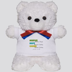 Hospice 2013 hope green blue Teddy Bear