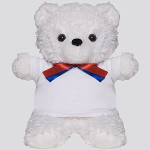 GREAT BRITAIN AND AMERICAN FLAGS Teddy Bear