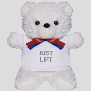 JUST-LIFT-CAP-GRAY Teddy Bear