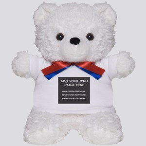 Add Your Own Image/Text Teddy Bear