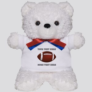 Personalized Football Teddy Bear