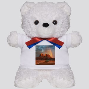 Rainbow In Grand Canyon Teddy Bear