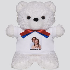 Photo Text Personalized Teddy Bear