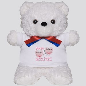 Personalize Sisters/Best Friends Teddy Bear