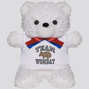 Team Wombat Teddy Bear