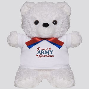 Army Grandma (collage) Teddy Bear