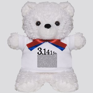3.1415926 Pi Teddy Bear