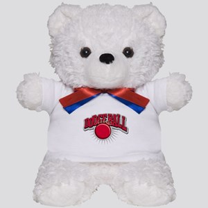 Dodge Ball Logo Teddy Bear