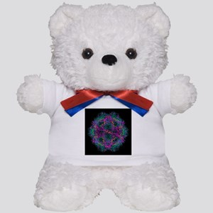 Feline distemper virus particle - Teddy Bear