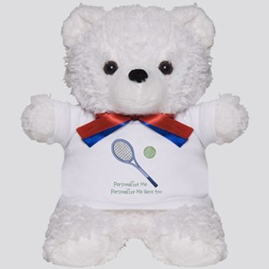 Personalized Tennis Teddy Bear