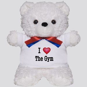 I LOVE THE GYM Teddy Bear