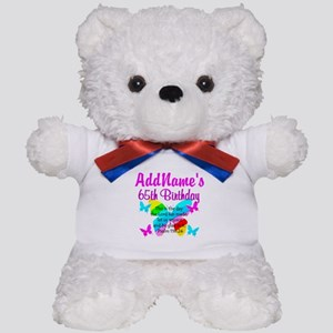 REJOICING 65TH Teddy Bear