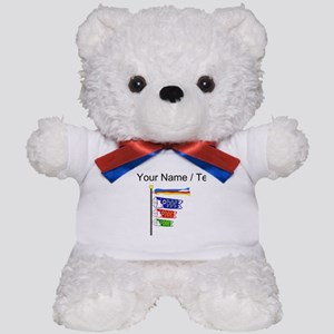 Custom Koinobori Carp Streamers Teddy Bear
