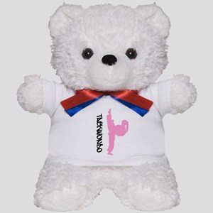 Taekwondo Female Teddy Bear