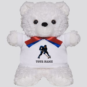 Hockey Player (Custom) Teddy Bear