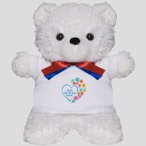 Aunt Special Heart Teddy Bear