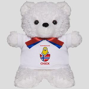 Norwegian Chick Teddy Bear