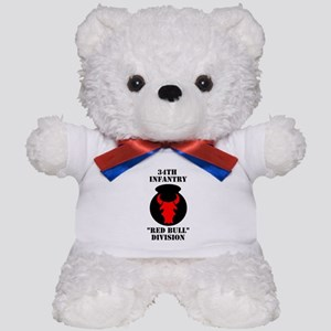 34th Infantry Division (4) Teddy Bear