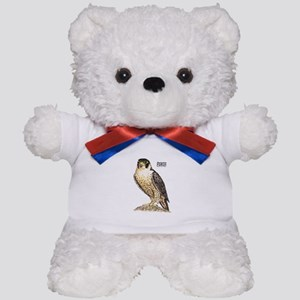 Peregrine Falcon Bird Teddy Bear