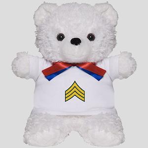 """Army E5 """"Class A's"""" Teddy Bear"""