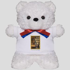 Erasmus Quote Teddy Bear