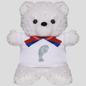 Tribal Manatee Teddy Bear