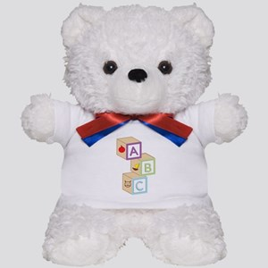 Baby Blocks Teddy Bear