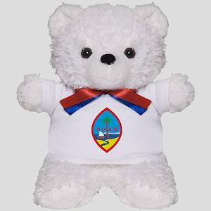 Guam Coat Of Arms Teddy Bear