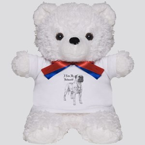 THE Bullmastiff Teddy Bear