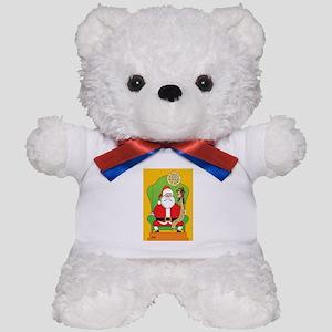 Santa & Jesus Teddy Bear