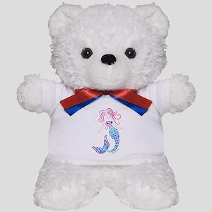 Tribal Mermaid Teddy Bear