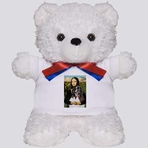 Mona Lisa's Landseer Teddy Bear