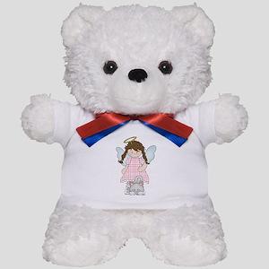 Angel Abby and Fluffy Teddy Bear