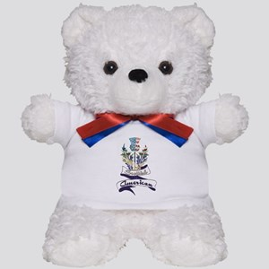 Scottish American Thistle Teddy Bear