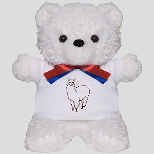 Cute Alpaca Teddy Bear