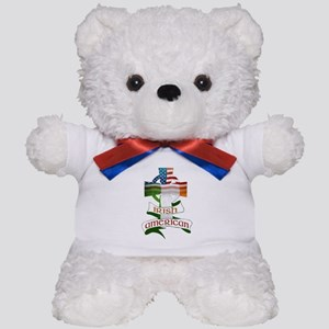 Irish American Celtic Cross Teddy Bear